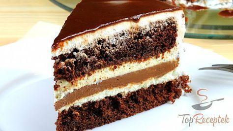 Lágy csokis mascarpone torta