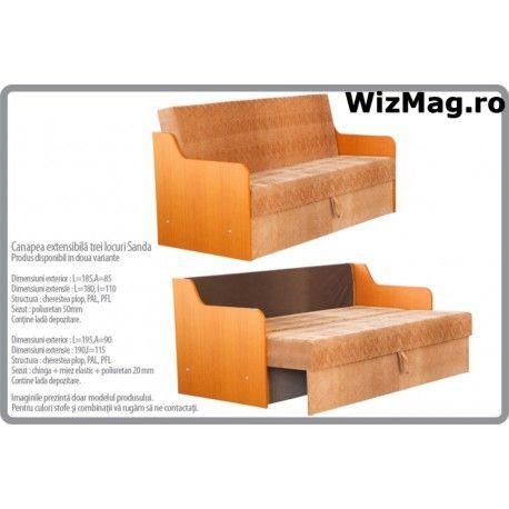 Canapea extensibila Sanda WIZ 020