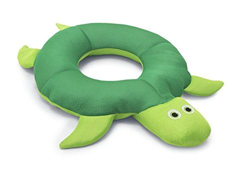 "Big Joe Ring Pool Petz Floating Pool Toy for Kids, Turtle:   Slow and steady? Fast as you can? This humble, old tortoise is a combination of both. Made in a kid-friendly 24"" ring shape and filled with buoyant Ultimax beans, he's definitely the leisurely type. But, covered in quick-drying, UV-resistant mesh, he's fast in a pinch."