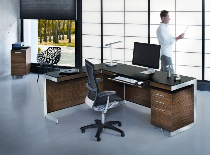 Best Decorating Ideas For Offices As Your Workspace Plans : Charming  Decorating Ideas For Offices With Black Office Table With Chair Loft Window  Covering ... Part 80
