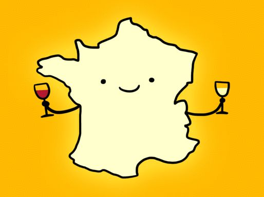 Here's a beginner's guide to French wines featuring the major regions of France.