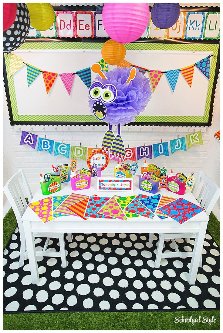Monster Classroom Decor : Best images about creative classroom pics on pinterest