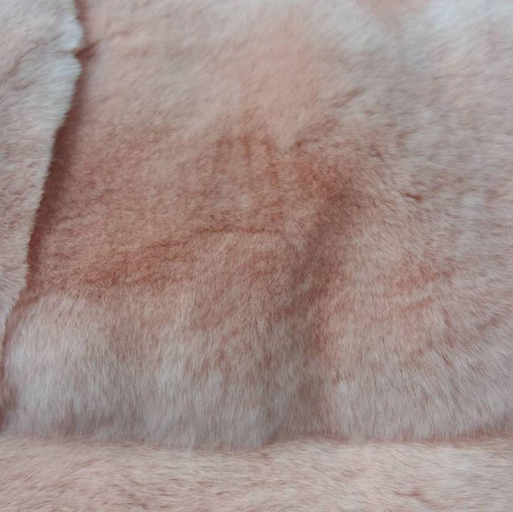 Pink rabbits... Beautiful and soft fur.    #artdresswork #sewn #garment #production  #fashion #fashiondesigner #clothes #manufacturer #designerclothes #designerclothing #pink #fur #rabbit #rabbitfur #clothesmaking