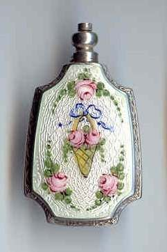 Figural Sterling Purse Perfume