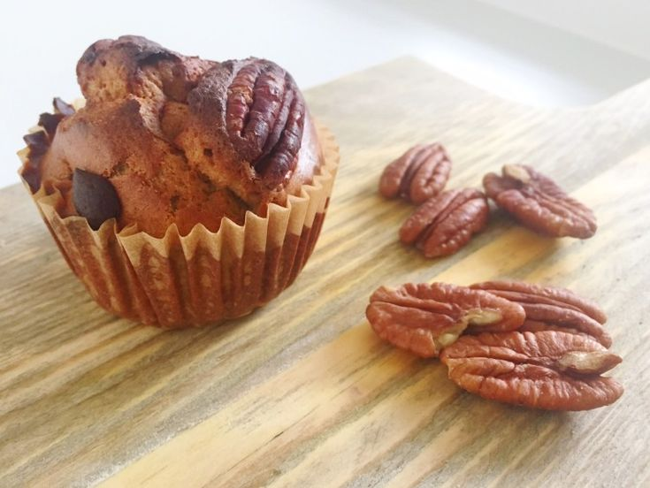 I Love Health | Healthy spicy pecan muffins | http://www.ilovehealth.nl