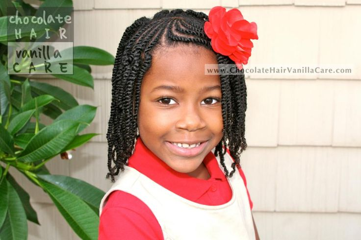 Chocolate Hair / Vanilla Care: Sunburst Flat Rope Twist Bangs with Box Two-Strand Twists #NaturalHair #Hairstyle