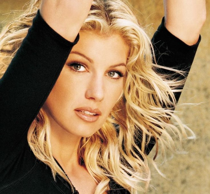 FAITH HILL, country music singer and actress, from Star, MS