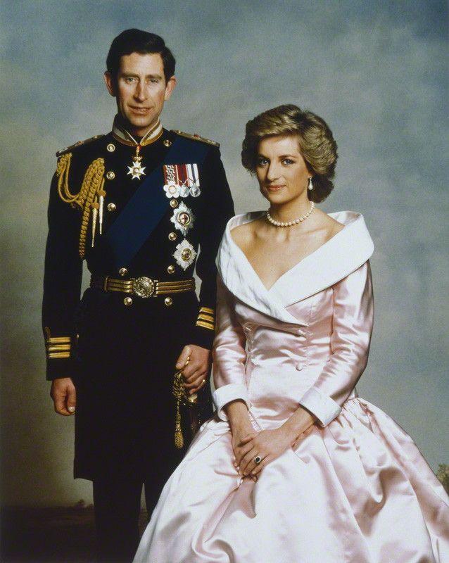diana portraits | Portrait Gallery - Large Image - NPG P716(10); Prince Charles; Diana ...