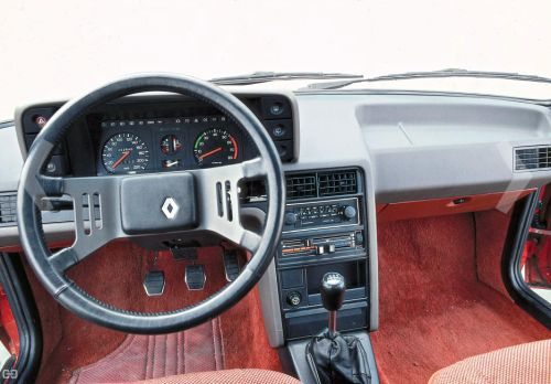French-Cars-since-1946 • 1981 Renault Fuego cockpit...