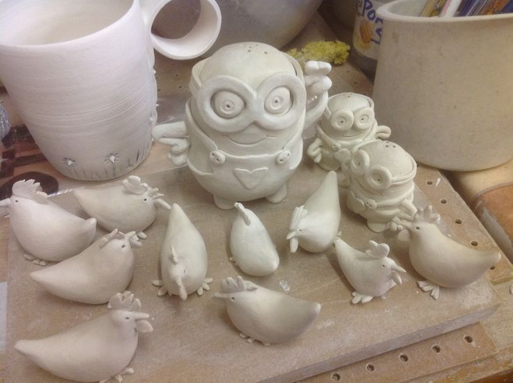 Making the minions and spring chicks