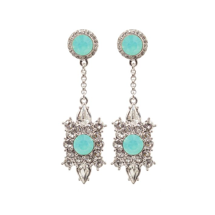 Lolu Rhoda Empire Drop Earrings
