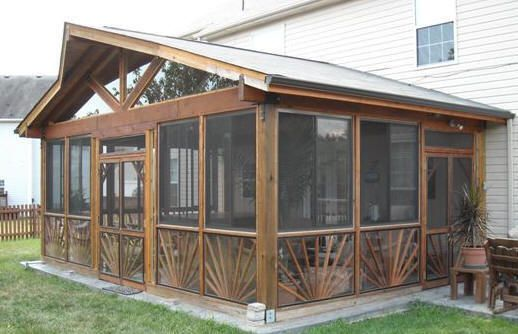 16 Best Images About Cedar Screened Porch On Pinterest