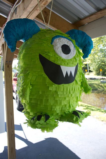 Monster pinata #monster #pinata