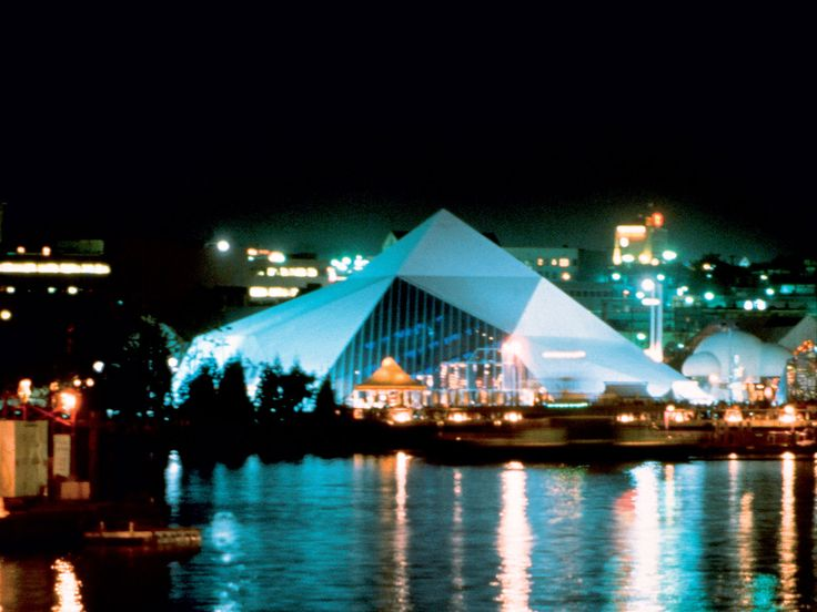 Bing Thom Architects Northwest Territories Pavilion,  Expo 86 Vancouver, BC ClientGovt of NWT, Ministry of Tourism Size 7,000 sq ft Budget $2.8 million Status Completed 1986 #Expo2025 #Expo2025Toronto #WorldsFair #ExpoCanada2025