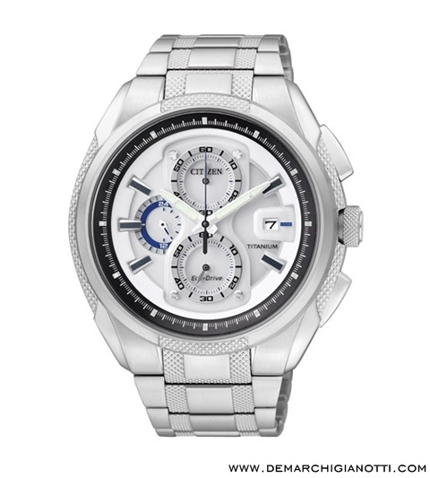 Citizen Crono Supertitanio  Eco Drive ca0200-54b  www.demarchigianotti.com