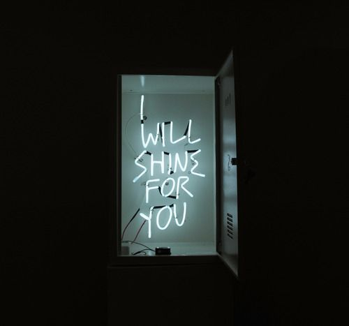 i will shine for you - lights tumblr