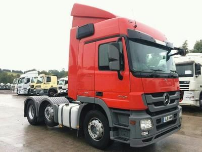2011 MERCEDES-BENZ ACTROS MP3 2546 6X2 TRACTOR UNIT in Ashbourne | Auto Trader Trucks