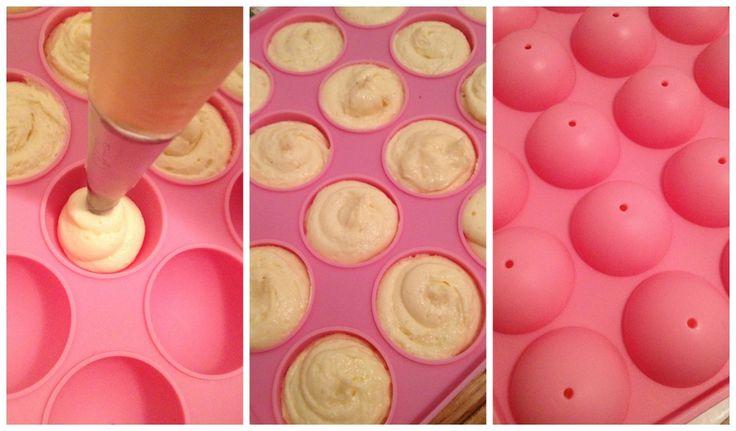 recette cake pops avec moule silicone