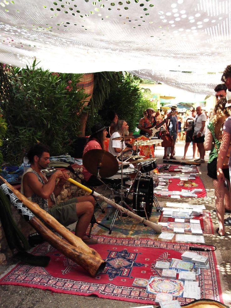 Hippy market Es Cana, Ibiza