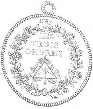 Les Trois Ordres, 1789