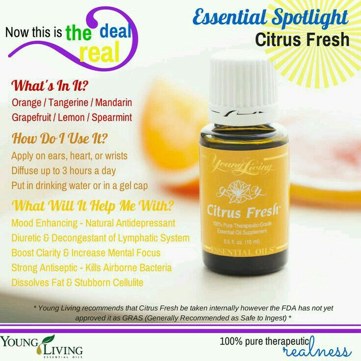 Citrus fresh young living
