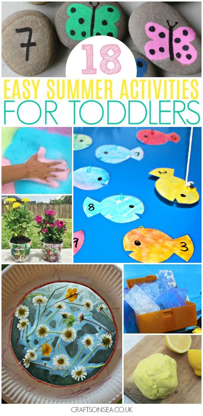 35 Easy And Fun Summer Activities For Toddlers Crafts And