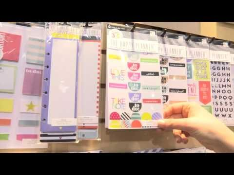 CHA2015 – Create 365: The Happy Planner by Me and My Big Ideas | Paperclipping