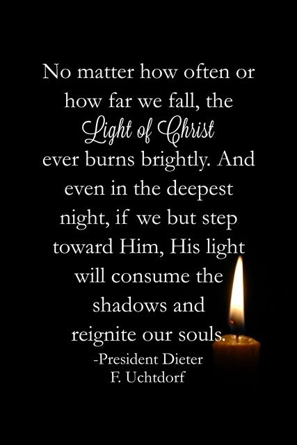 97 best Light of Christ images on Pinterest | Lds quotes ...