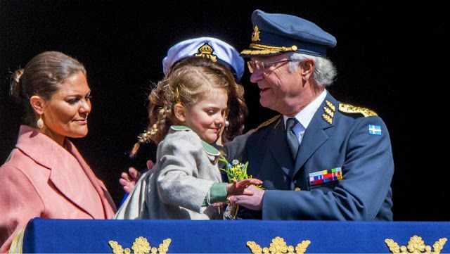 The Swedish Royal Family celebrate the King's 71st birthday
