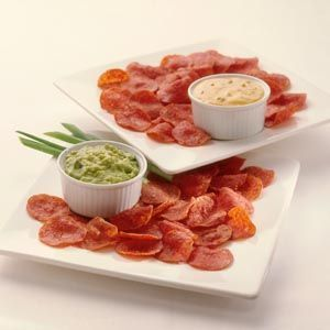 Pepperoni Crisps Recipe via @SparkPeople