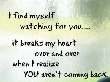 I watch for you all the time J'loni .. It's torture over and over again every day, it just breaks my heart again n again my love
