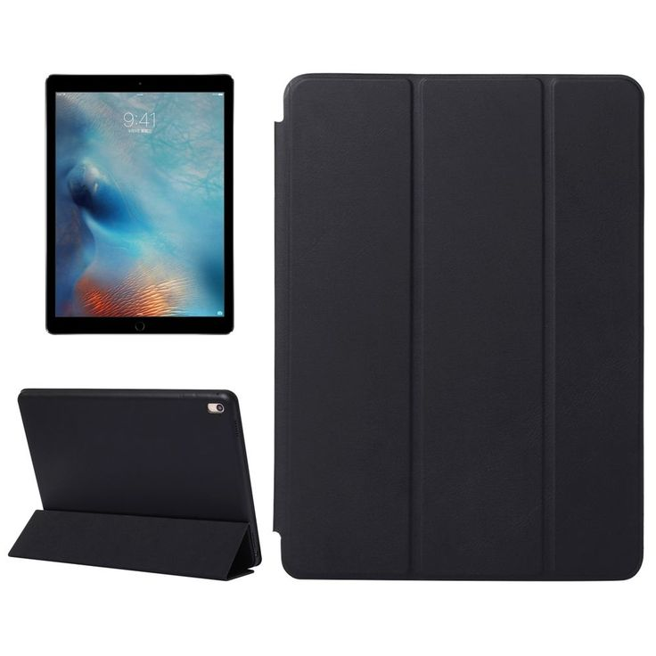 SMART COVER Integrale CUSTODIA SUPPORTO per Apple iPad 9.7 2017 Nera + Pellicola