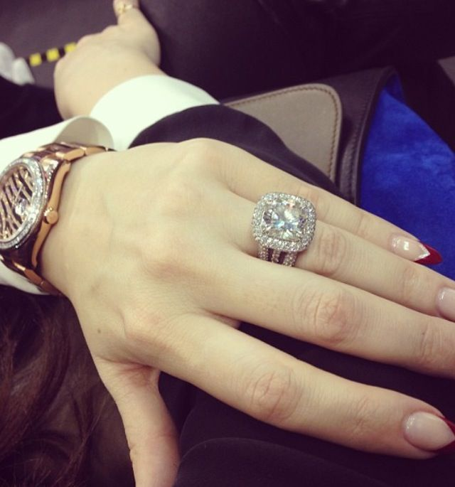 Khloe Kardashian Wedding ring