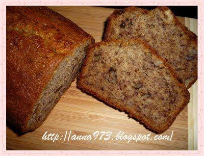 Выпечка хлеба и не только...: Банановый хлеб за 10 минут