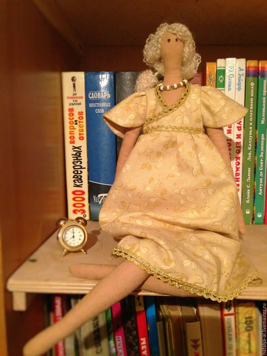 Куклы Тильды ручной работы. Ярмарка Мастеров - ручная работа. Купить Интерьерная текстильная кукла Ангел осени. Handmade.