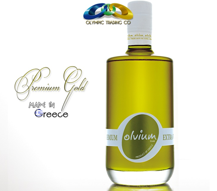 Olvium Gold is a distinctive Greek Premium Extra Virgin Olive Oil.    Olvium Gold Greek ultra-premium extra virgin olive oil with all the ideal characteristics, whose acidity and all other detrimental elements, reach near zero values due to particular care in the cultivation, selection and pressing of its crop.