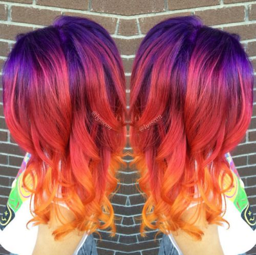 Sunset Hair Is The Latest Beauty Trend To Take