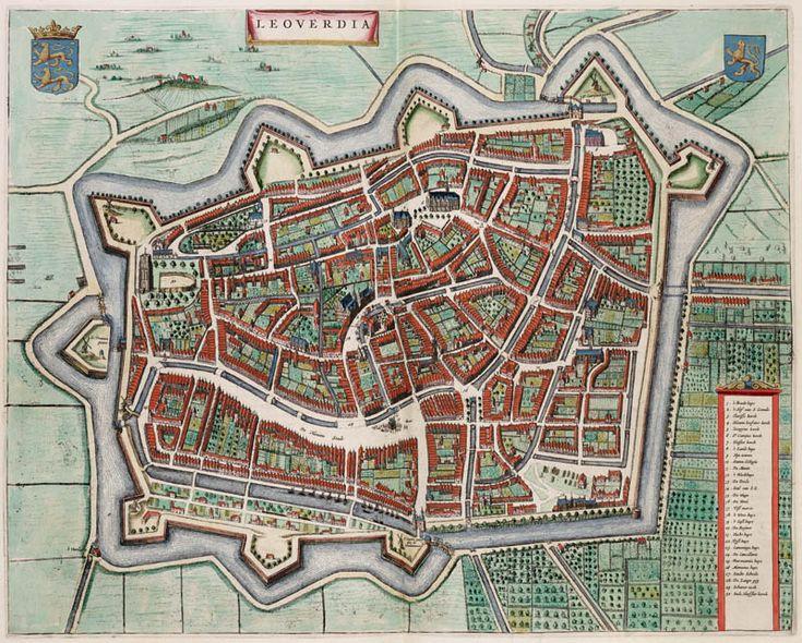 Leeuwarden 1649 Blaeu
