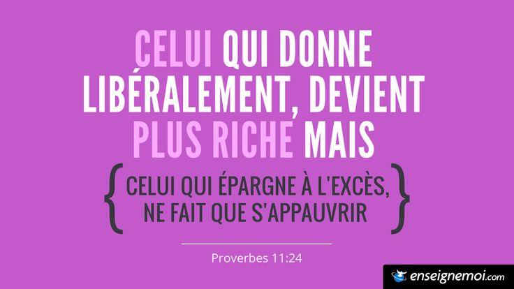 Proverbes 11:24
