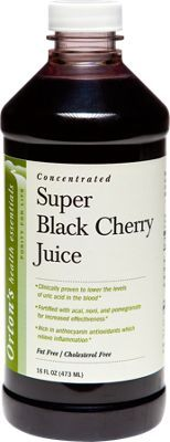 Black Cherry Juice for Gout and Arthritis