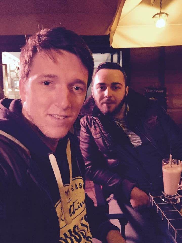 ' Nu există femei care să nu fie de nasul tău, asta doar în cazul în care scopul tău e să le miroşi '   #With Ionut Comarnici; At Dodo Cafe, Timisoara   www.talosdarius.ro