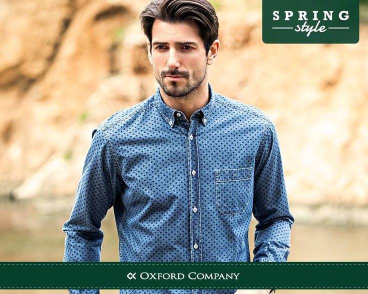 Όταν το τζιν συναντά την ποιότητα Oxford Company τότε το sport ντύσιμο αποκτά άλλο νόημα.  fashion. Jean . Ποιο από τα sport πουκάμισά μας είναι το αγαπημένο σας; http://www.oxfordcompany.gr/category.php?id_category=8
