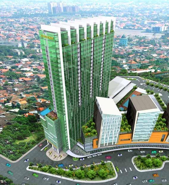 [SURABAYA] City of Tomorrow Surabaya | Mixed Use | 1 x 33 Fl & 6 x 12 Fl | Completed - SkyscraperCity