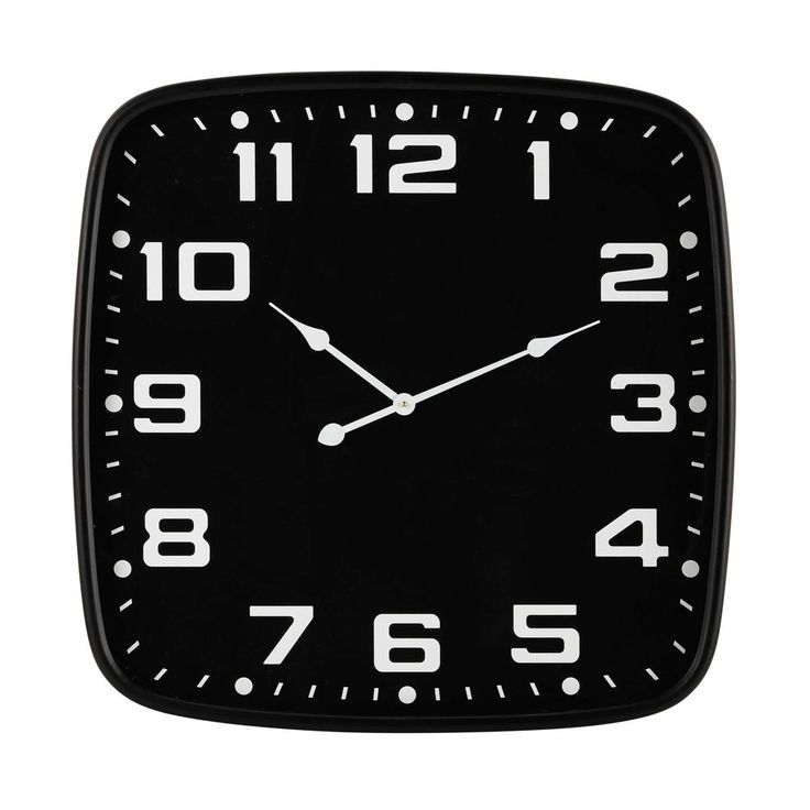 awesome brixton metal clock in black d cm maisons du monde with horloge de gare maison du monde. Black Bedroom Furniture Sets. Home Design Ideas