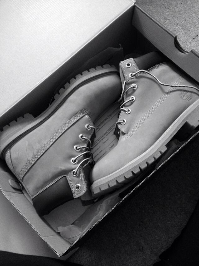 Grey timbs <3 #timbs #timberlands