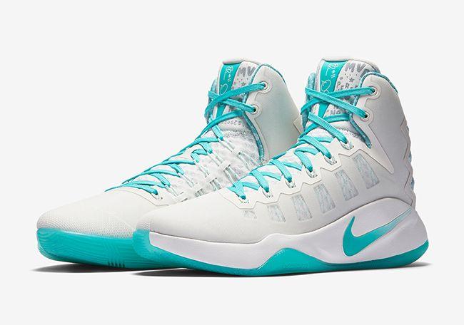 http://SneakersCartel.com Nike Hyperdunk 2016 'Elena Delle Donne' PE #sneakers #shoes #kicks #jordan #lebron #nba #nike #adidas #reebok #airjordan #sneakerhead #fashion #sneakerscartel