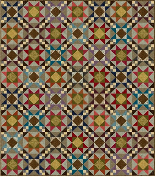Quilt Pattern Molly B S Basic Quilt By Marcus Fabrics