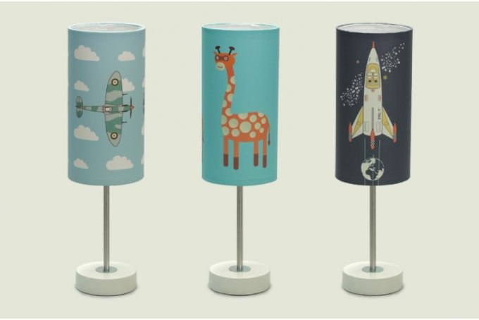 Kid's lamps by SEAN CROZIER