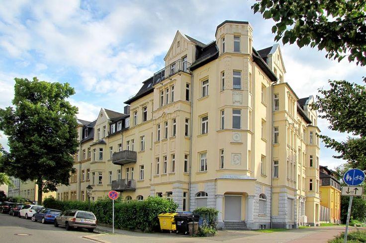 Chemnitz - Wohn- und Geschäftshaus in der Neefestraße,foto-Germany worldmapz.com