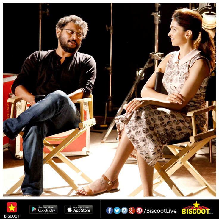 Bollywood actress Deepika Padukone and director Shoojit Sircar came together on a chat show to promote their upcoming film Piku in Mumbai yesterday. View pictures here: www.biscoot.com